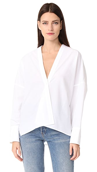 Nili Lotan Sabine Shirt In White