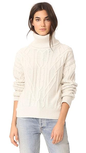Nili Lotan Cecil Cashmere Sweater - Ivory