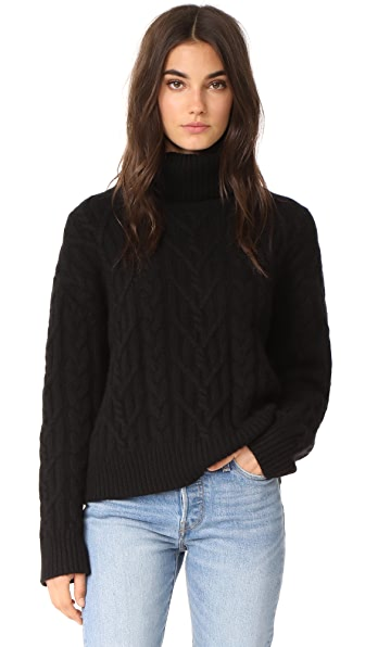 Nili Lotan Gigi Sweater - Black