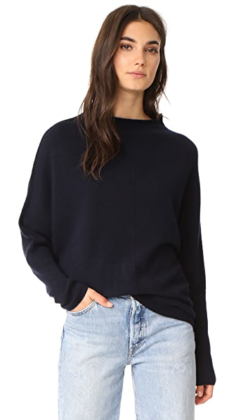 Nili Lotan Rosalie Cashmere Sweater - Dark Navy