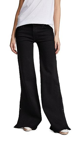 Nili Lotan Ena Jeans In Noir Wash
