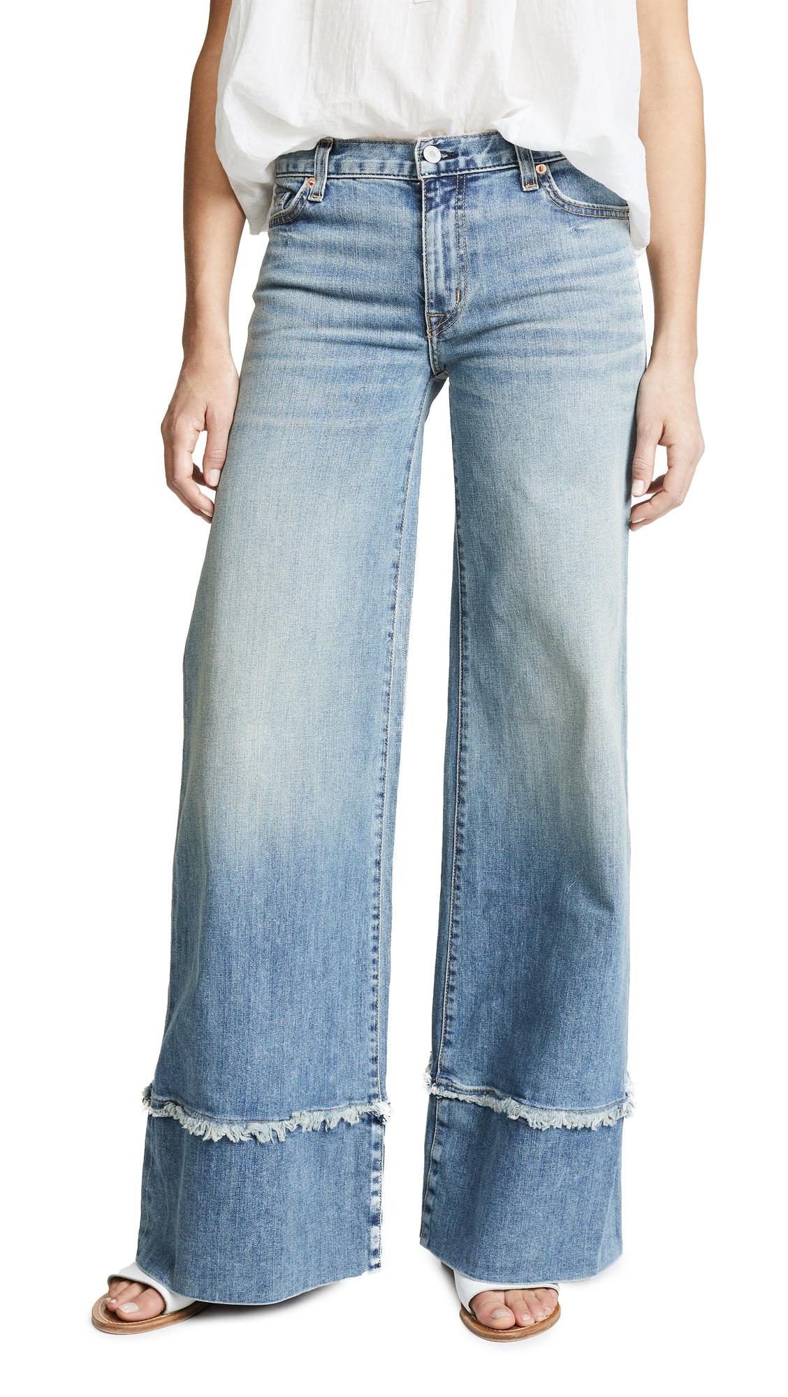 Nili Lotan Savina Jeans In Venice Wash
