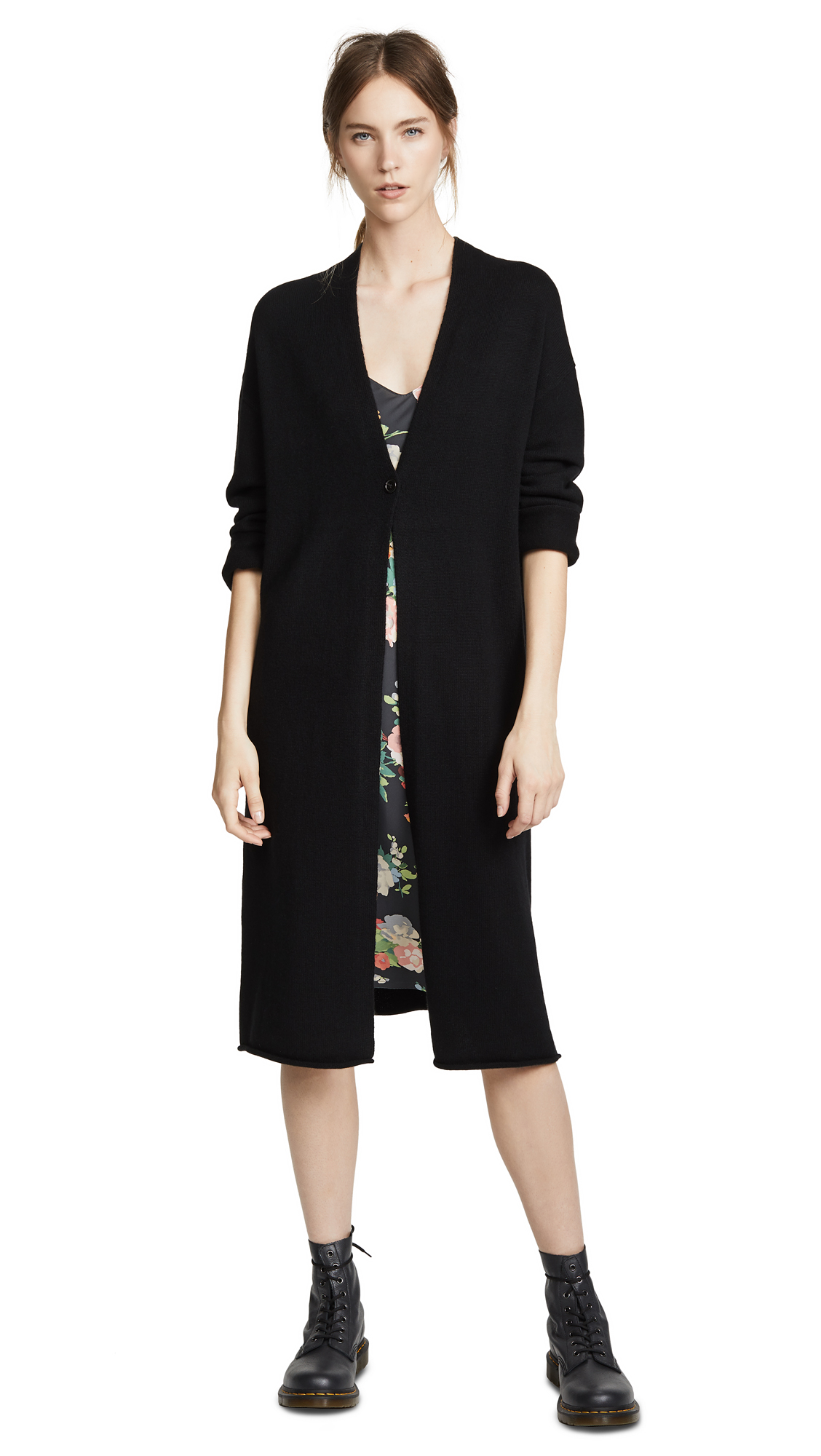 Nili Lotan Clarissa Cardigan In Black