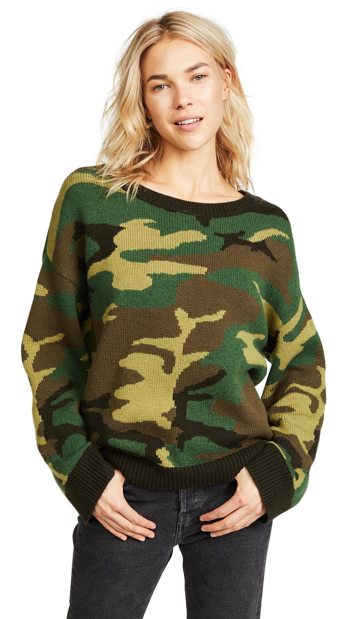 Nili Lotan Moselle Sweater - Camouflage