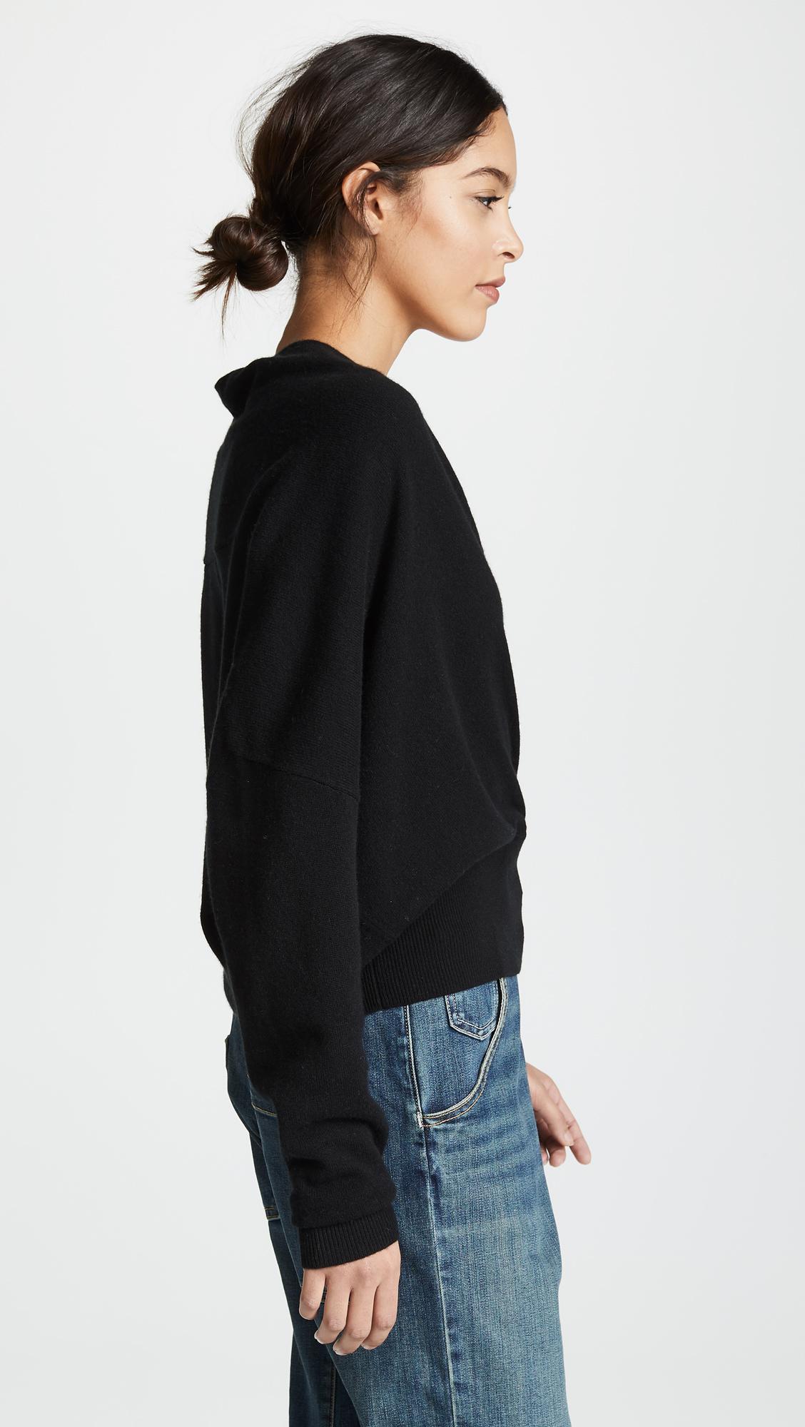 f99ae4303a Nili Lotan Cashmere Wrap Sweater
