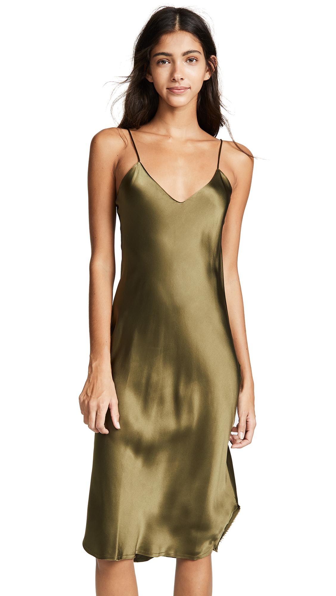 Short Cami Dress, Olive