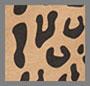 леопардовый принт цвета виски