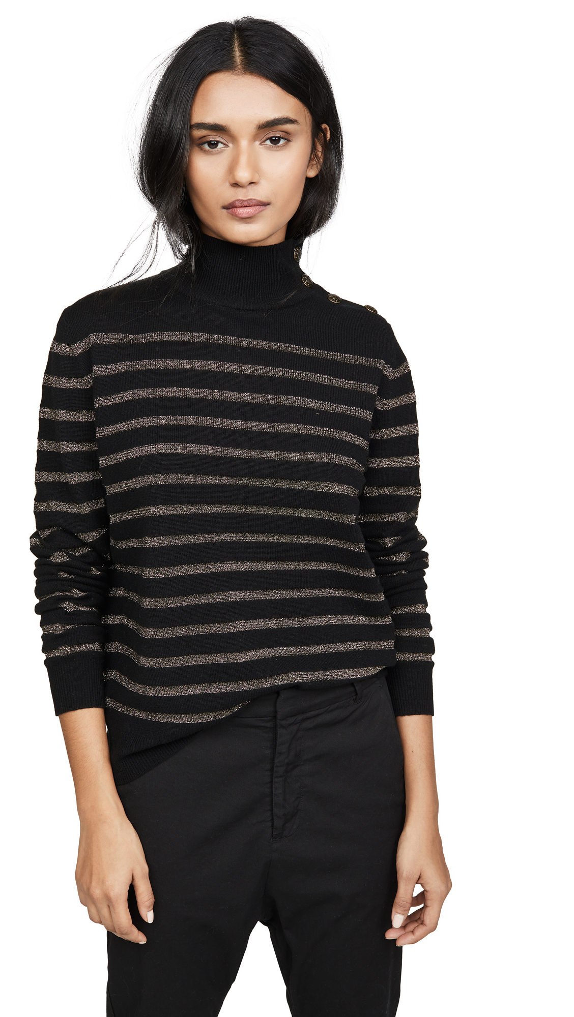 Buy Nili Lotan online - photo of Nili Lotan Cashmere Spruce Sweater