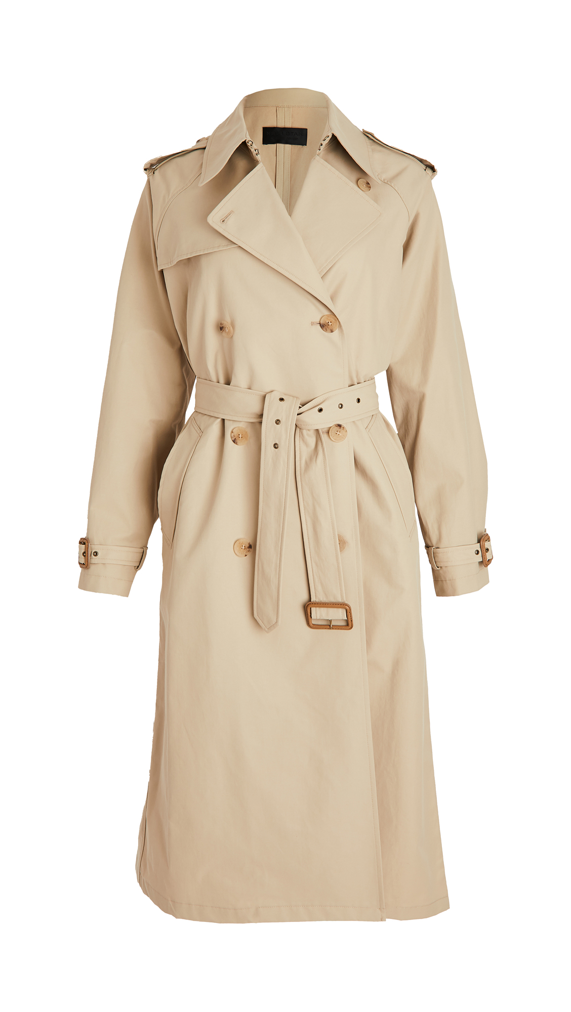 Nili Lotan Leathers TANNER TRENCH COAT