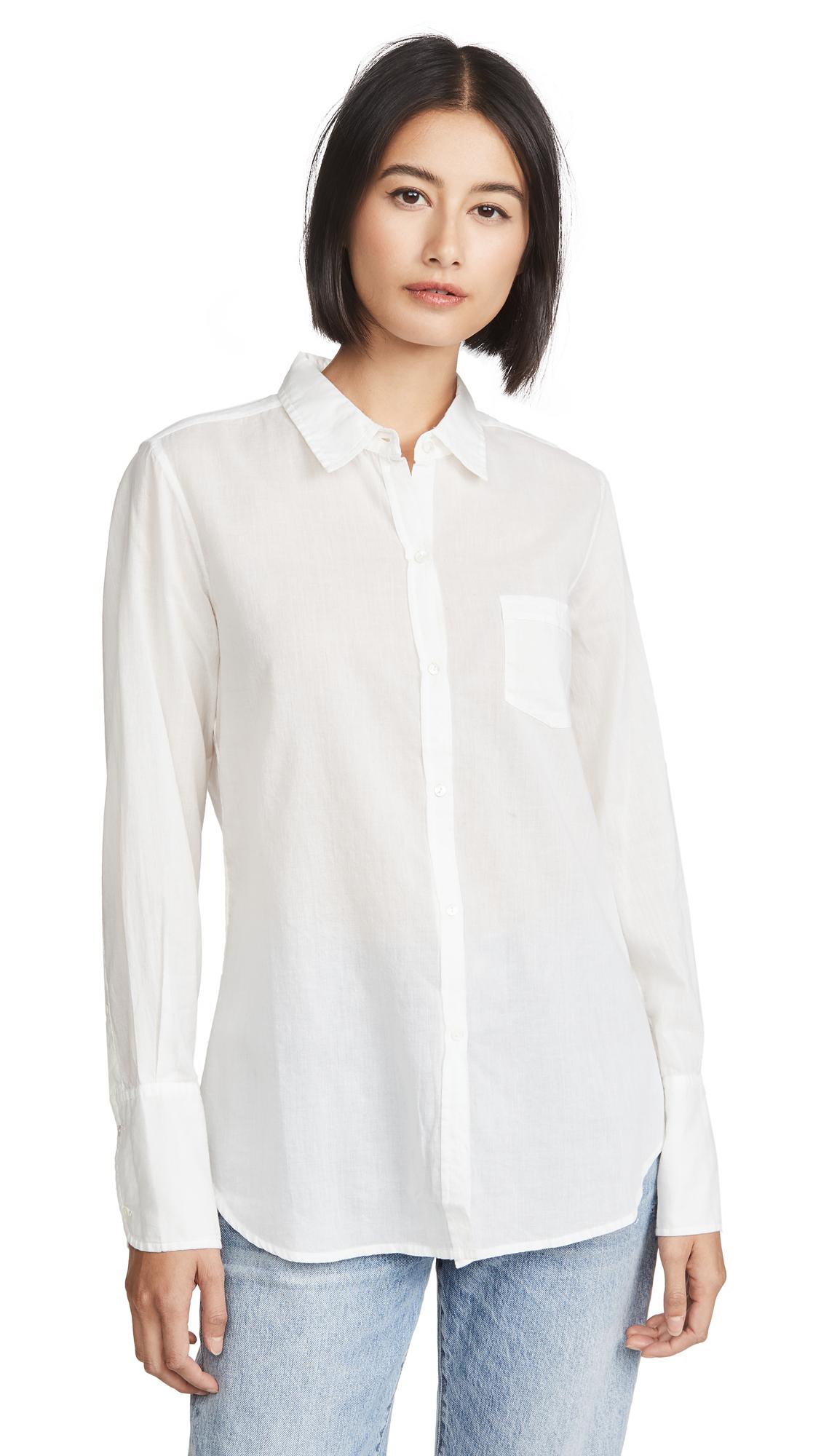 Nili Lotan Cotton Voile Shirt