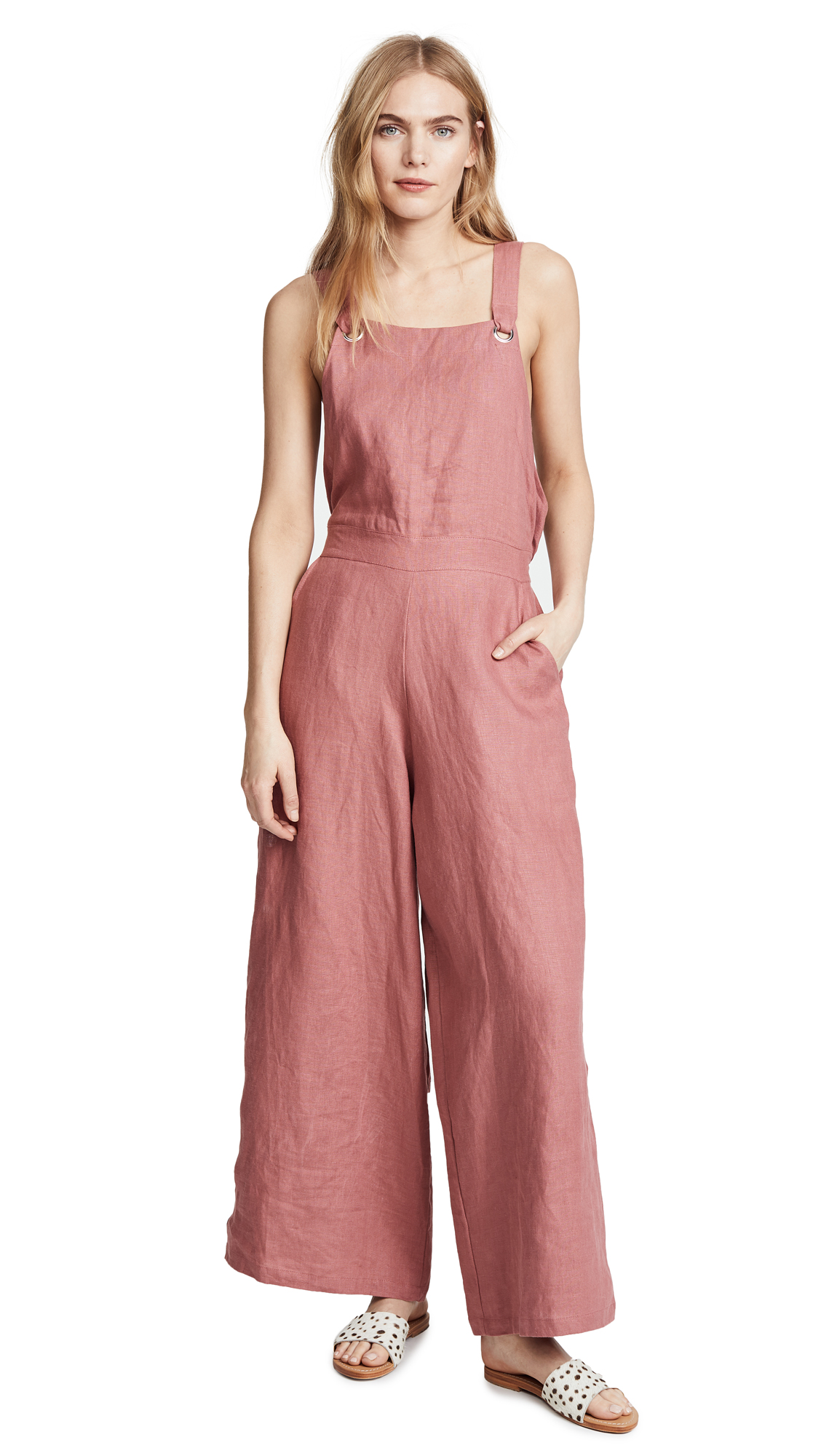 Nice Martin Celine Jumpsuit In Blush