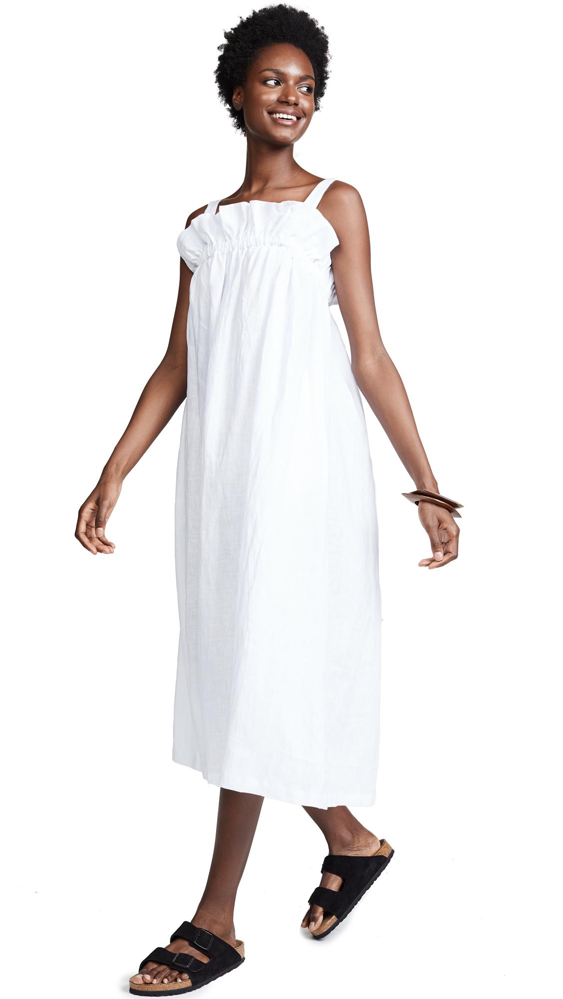 NICE MARTIN Riley Dress in White