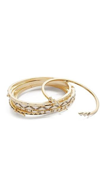 Noir Jewelry Stack Bracelet Set
