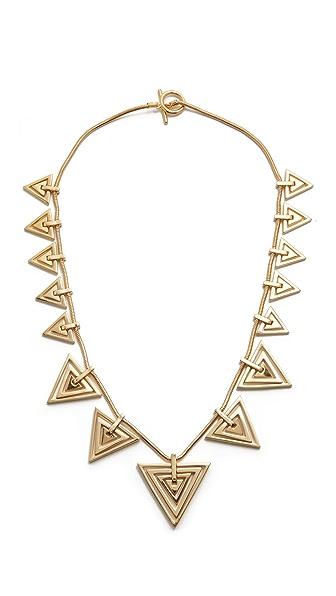 Noir Jewelry Metal Nova Statement Necklace