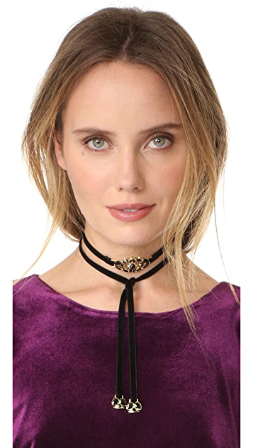 Noir Jewelry Frostbite Choker Necklace