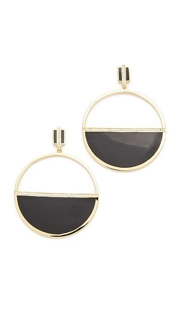 Noir Jewelry Honey Earrings