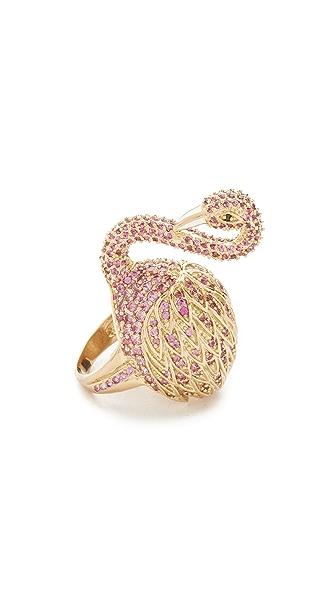 Noir Jewelry Swan Ring