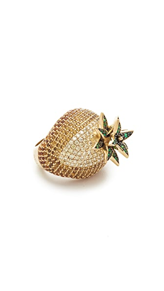 Noir Jewelry Pineapple Ring