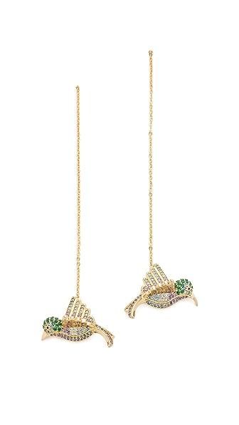 Noir Jewelry Bird Earrings