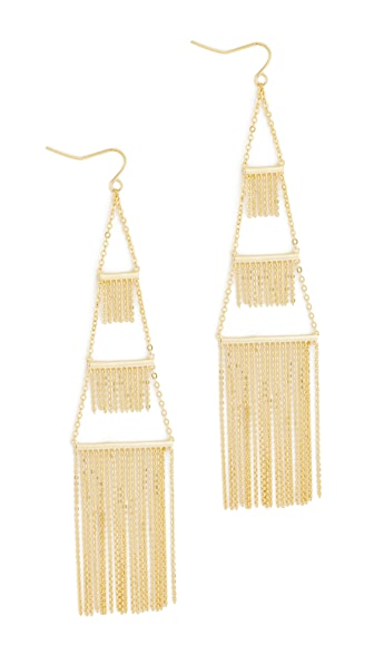 Noir Jewelry Naval Earrings In Gold