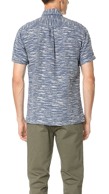 Norse Projects Eg Float Weave Short Sleeve Shirt