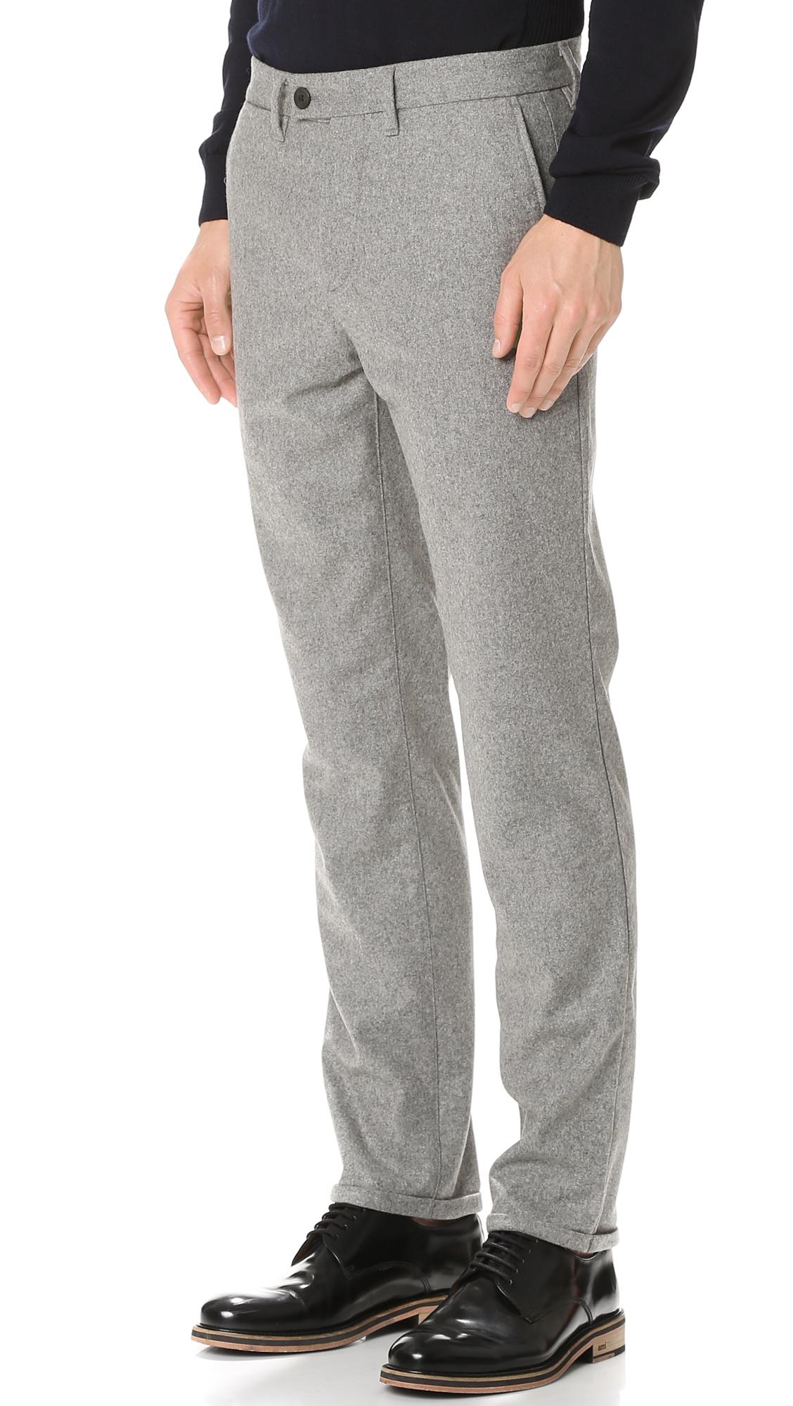 475193fa85f Norse Projects Thomas Slim Wool Pants