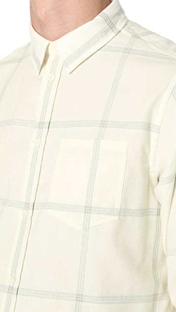 Norse Projects Hans Brushed Check Shirt