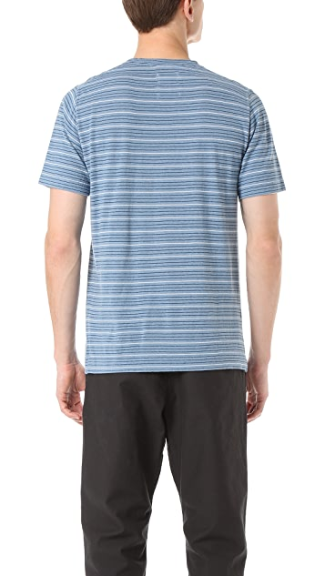 Norse Projects James Fine Stripe Tee