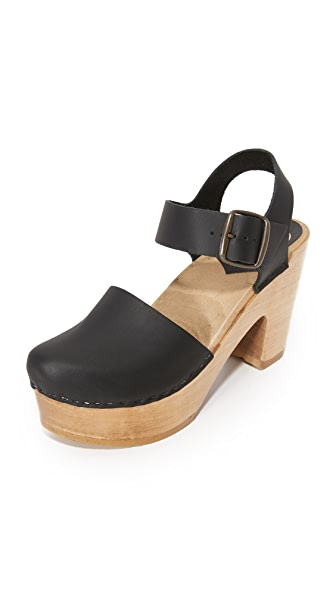 No.6 Jane Platform Clogs