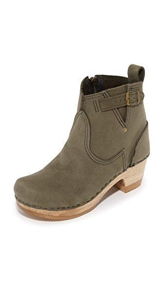 No.6 Buckle Booties - Storm