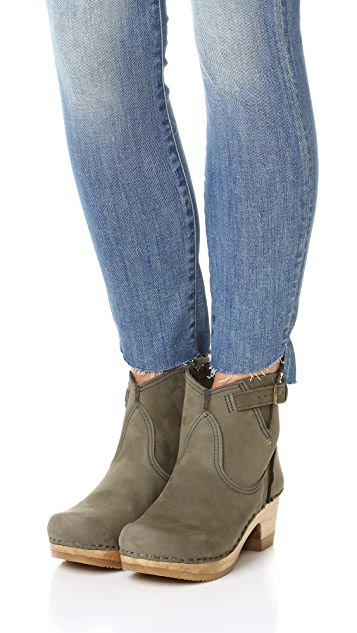 No.6 Buckle Booties