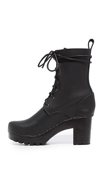 No.6 High Tread Combat Boots