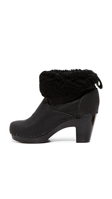No.6 Pull On Shearling Booties