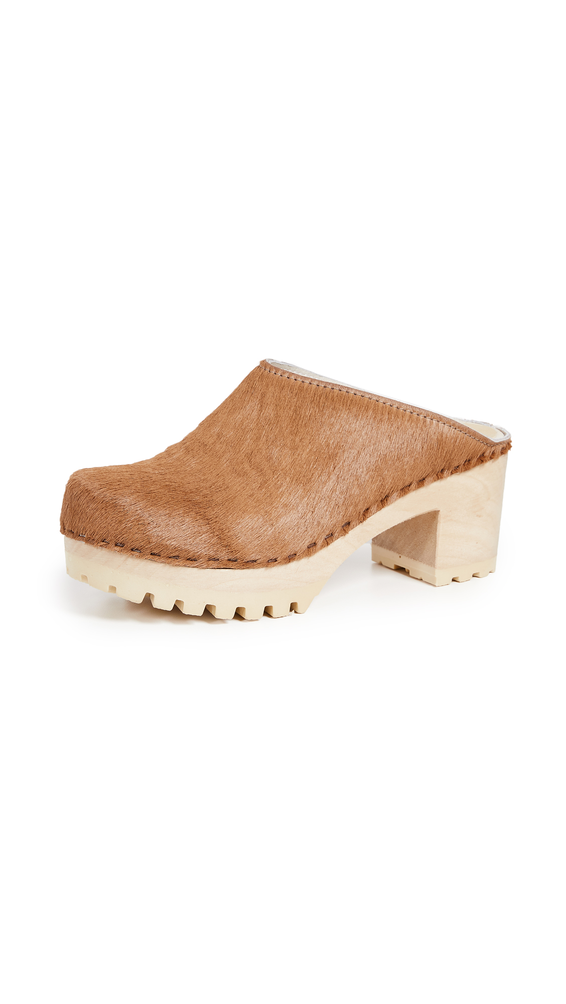 No.6 New School Tread Clog - Caramel