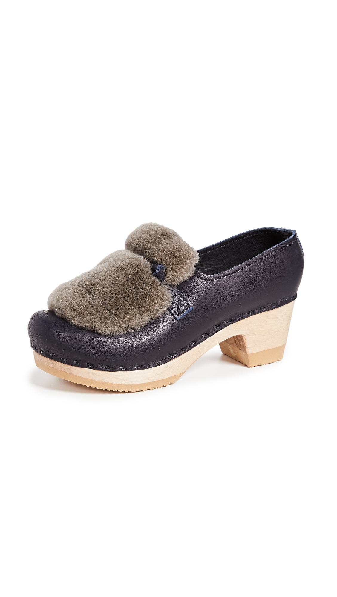 No.6 Shearling Loafers - Indigo/Storm