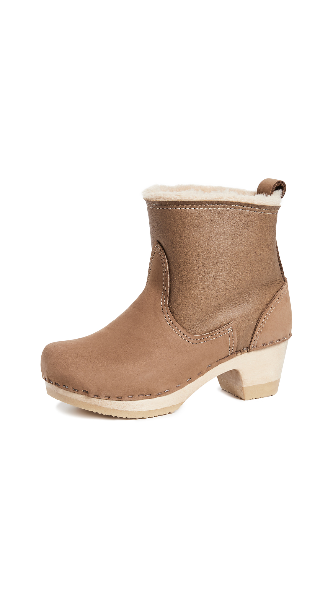 No.6 Pull On Shearling Mid Boots