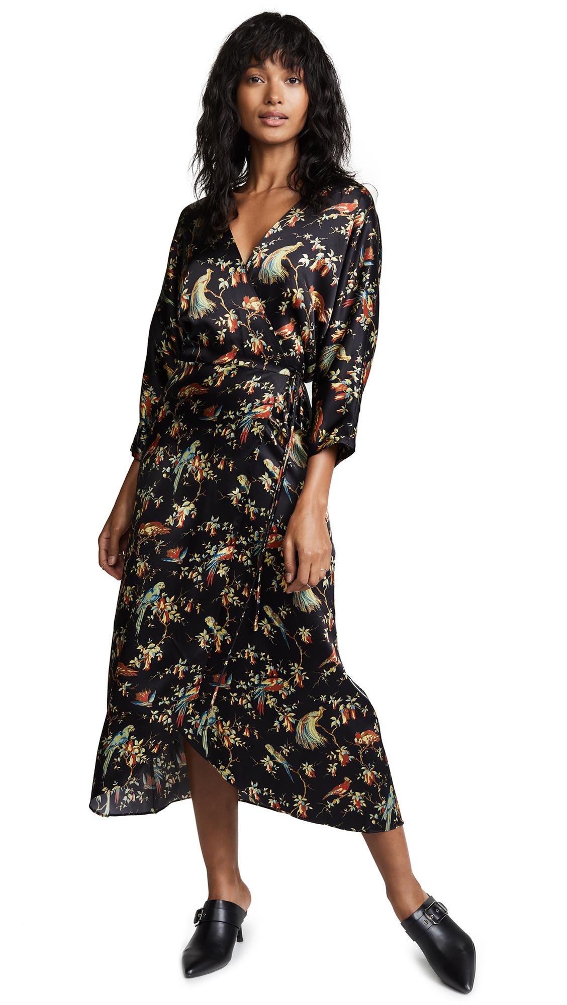 No.6 Viola Wrap Dress