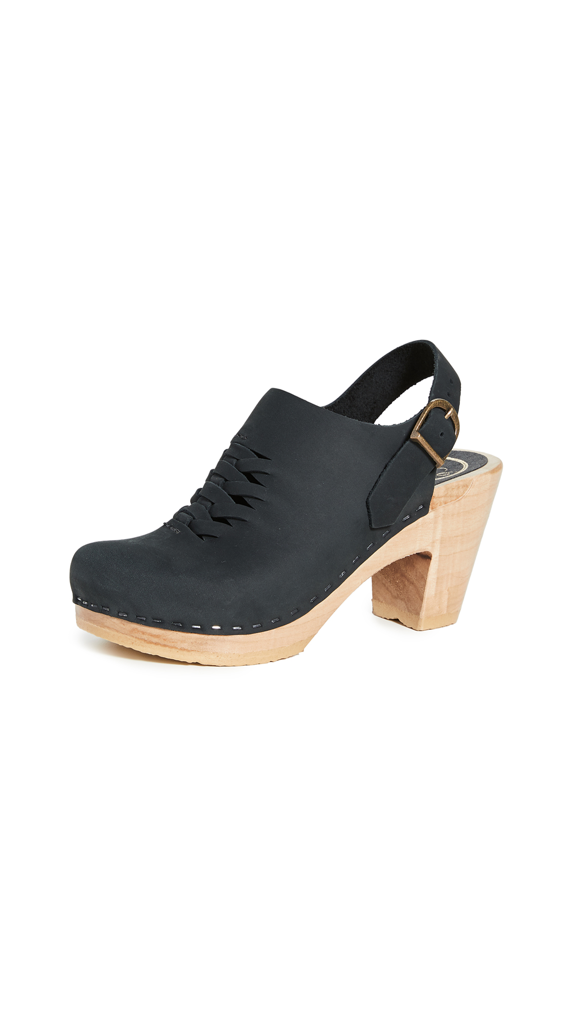Buy No.6 online - photo of No.6 Aimara Woven High Heel Clogs