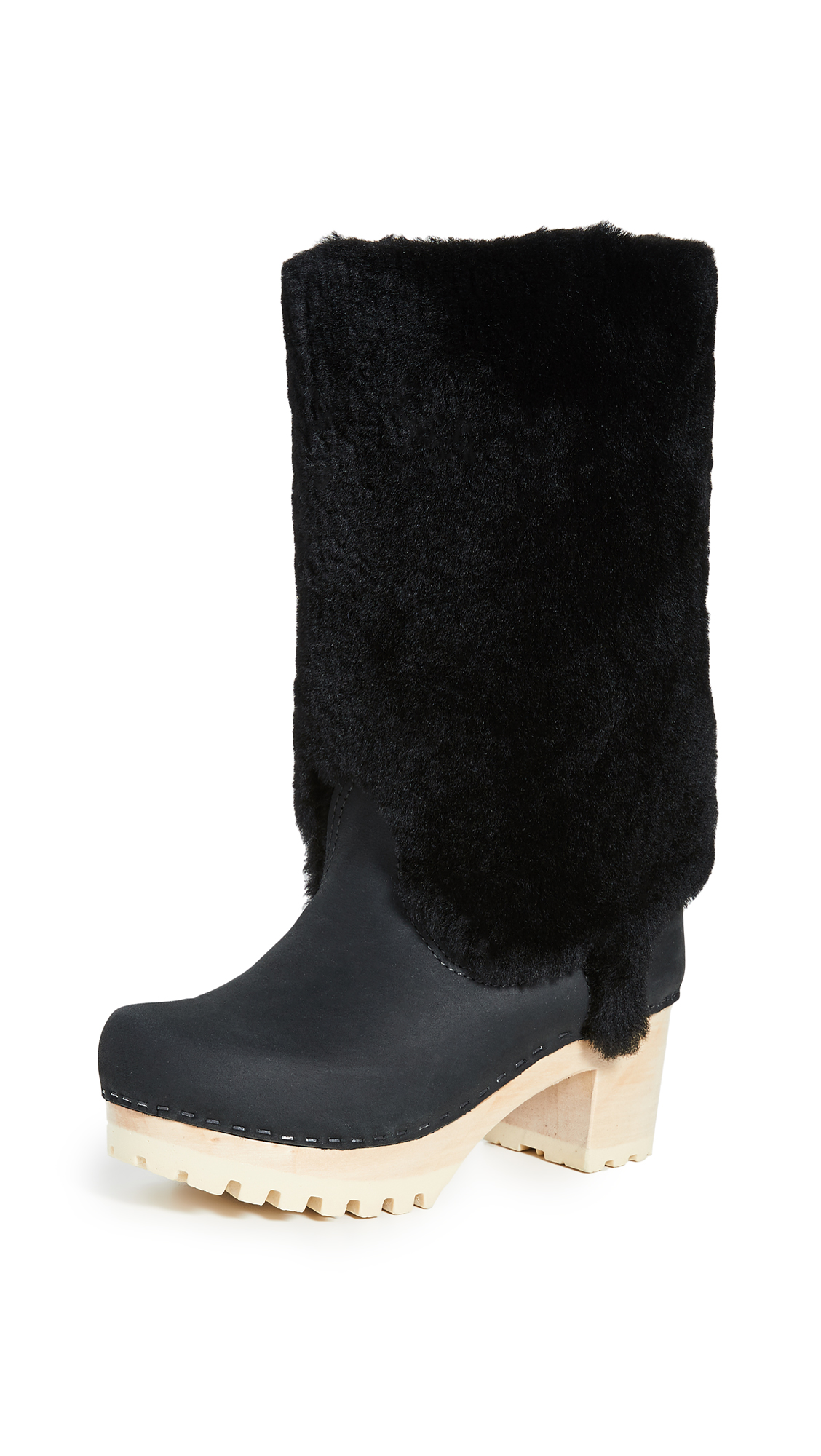 Buy No.6 online - photo of No.6 Alpha Shearling Mid Tread Boots