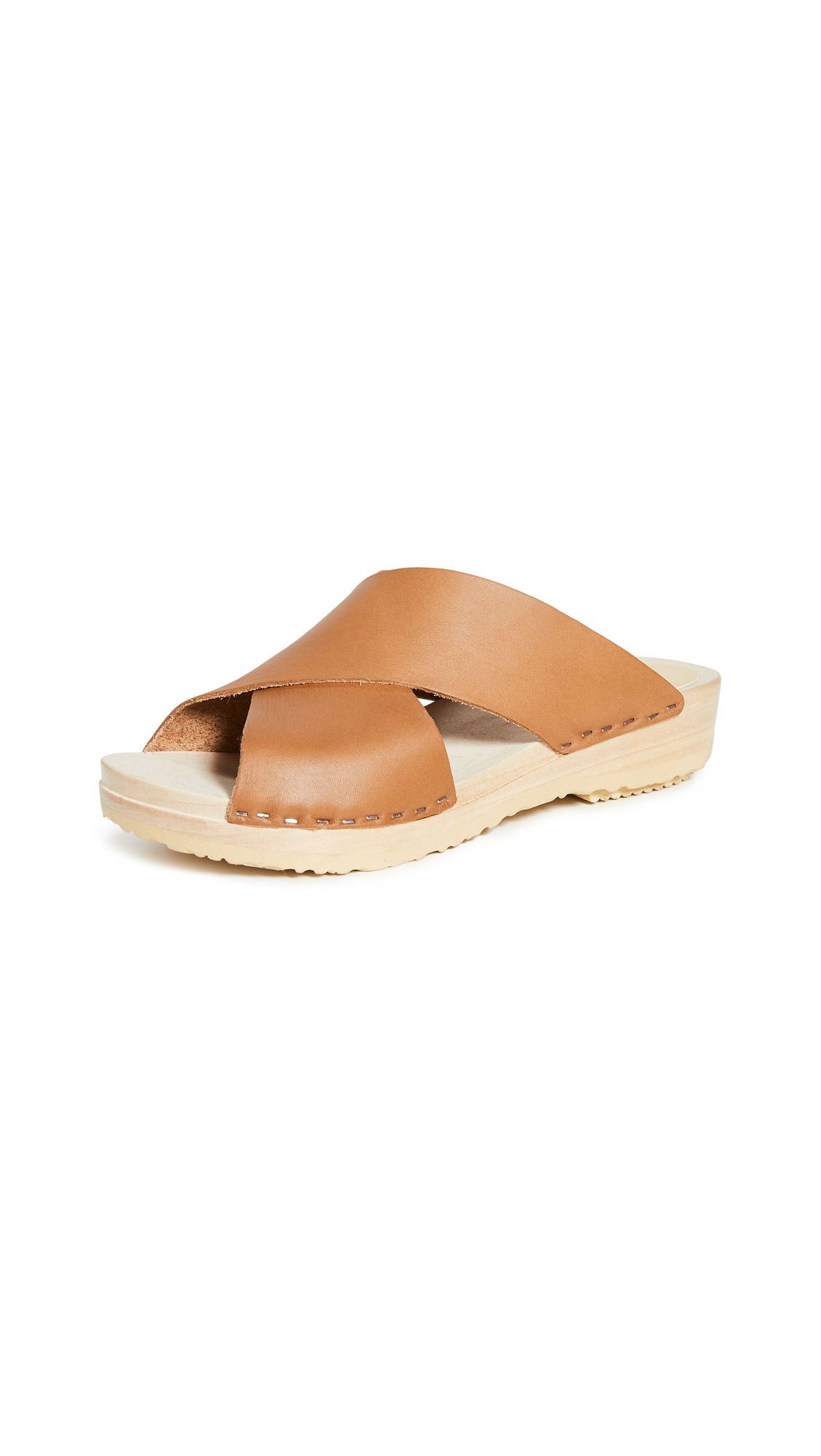 No.6 Frida Flat Clogs