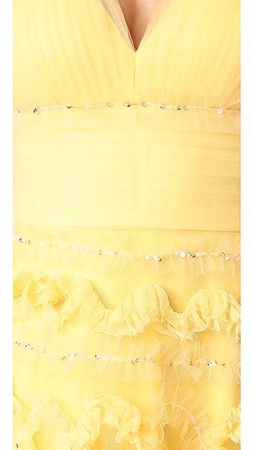 Marchesa Notte A-Line Ball Gown