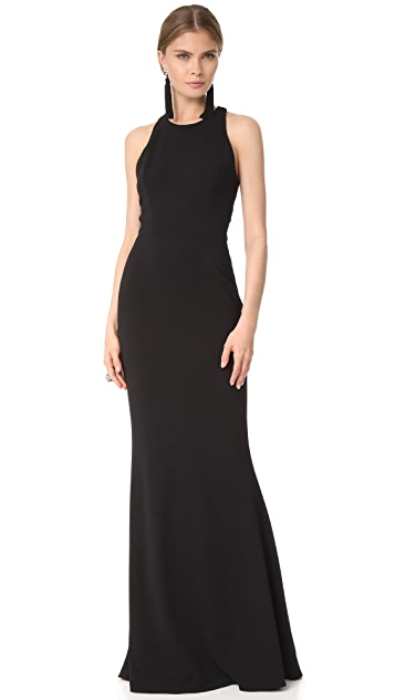 Marchesa Notte Column Gown
