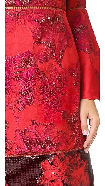 Marchesa Notte A-Line Cocktail Dress