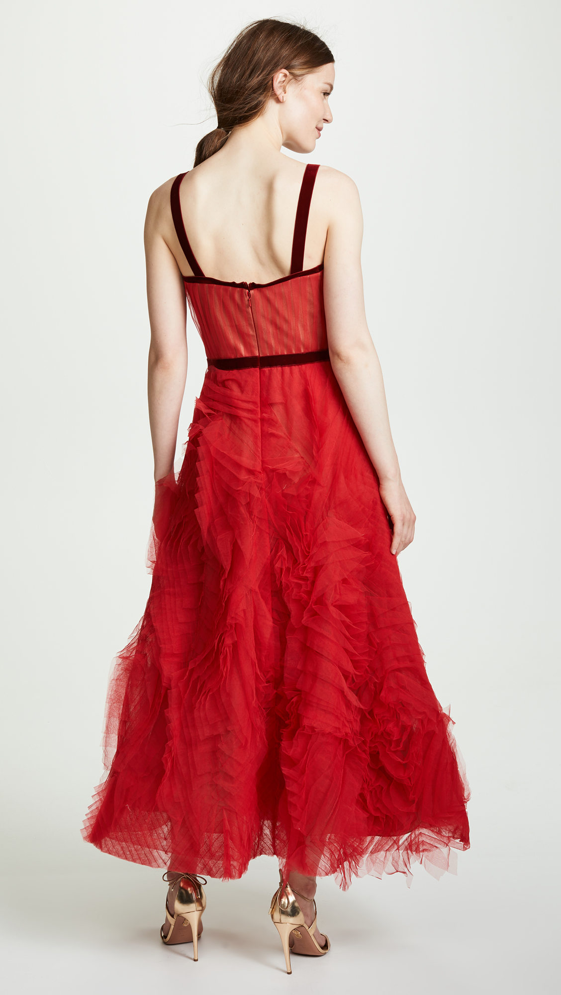 03f62d47 Marchesa Notte Textured Tulle Gown | SHOPBOP