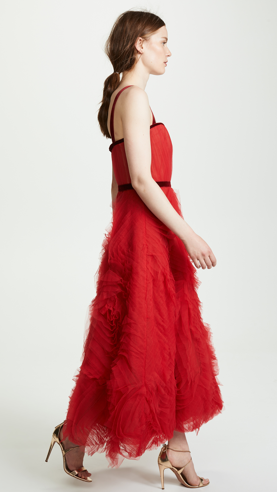 6f049eee Marchesa Notte Textured Tulle Gown | SHOPBOP