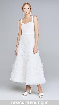 c831a84cad Designer White Wedding Dresses   SHOPBOP