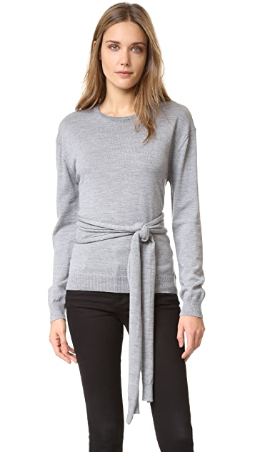 No. 21 Sweater with Front Tie