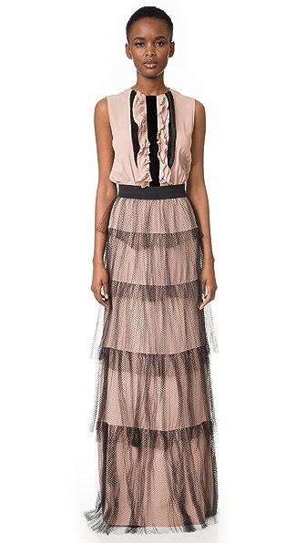 No. 21 Ruffle Gown