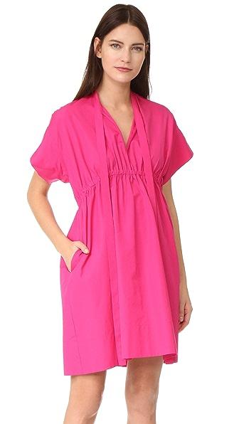 No. 21 Poplin Short Sleeve Dress