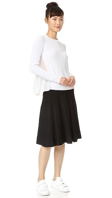 No. 21 Ribbed Skirt
